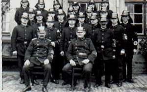 1934 feiert die Wehr das 25jährige Bestehen mit den Mitgliedern
