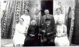 Julius Meier mit Sohn Ott und Familie
