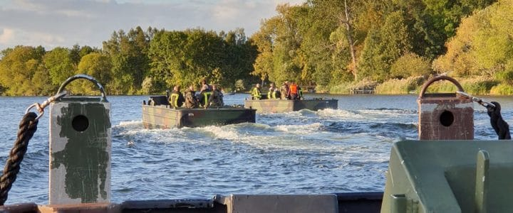 Bootsausbildung mit der Bundeswehr