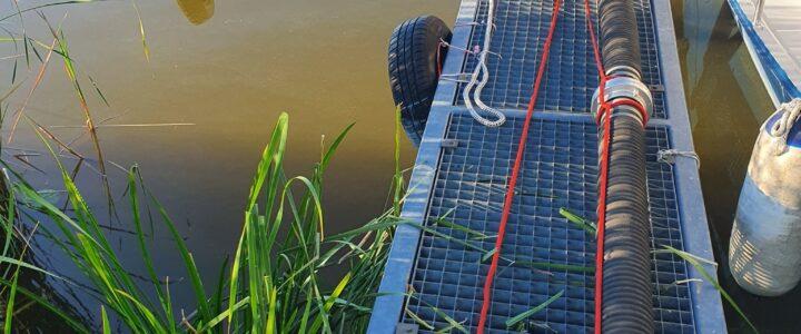 Ausbildung Wasserentnahme aus einem offenen Gewässer